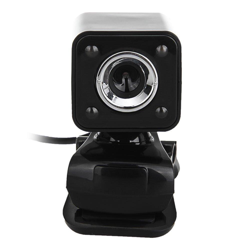 usb 8 megapixel webcam kamera video 4led schwarz mic fuer desktop laptop j2t9 ebay. Black Bedroom Furniture Sets. Home Design Ideas