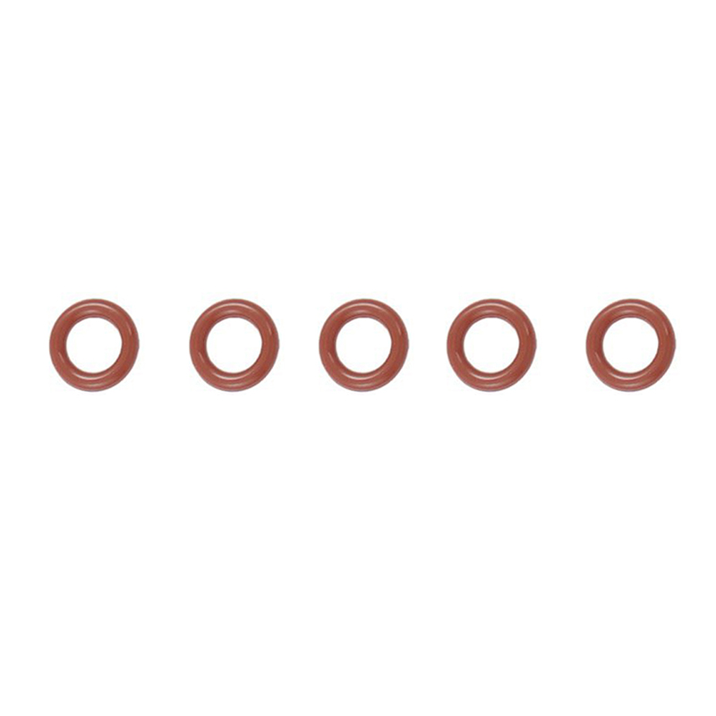 50 pcs 12 mm x 2.5 mm x 7 mm Dark Red Silicone O-rings Oil Seal Washers gasketet