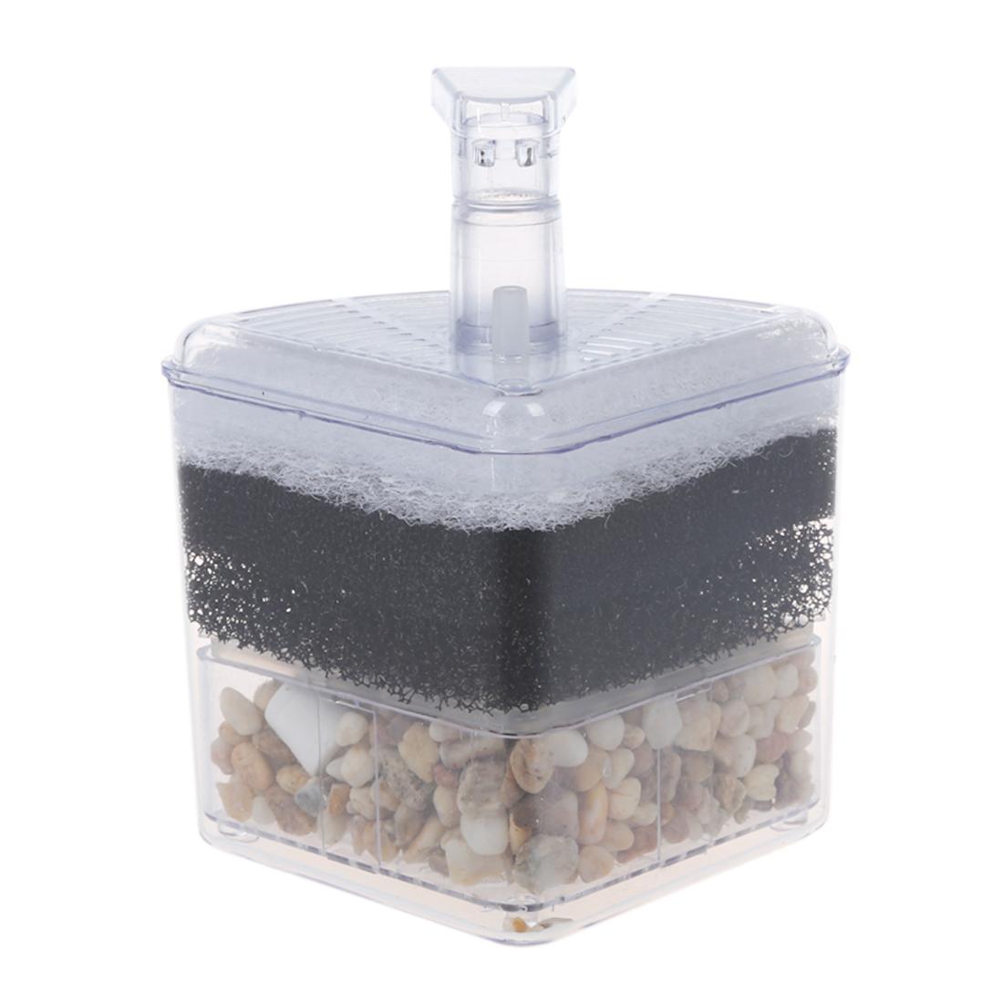effizienter ecke filter fuer aquarium dkvw ebay. Black Bedroom Furniture Sets. Home Design Ideas