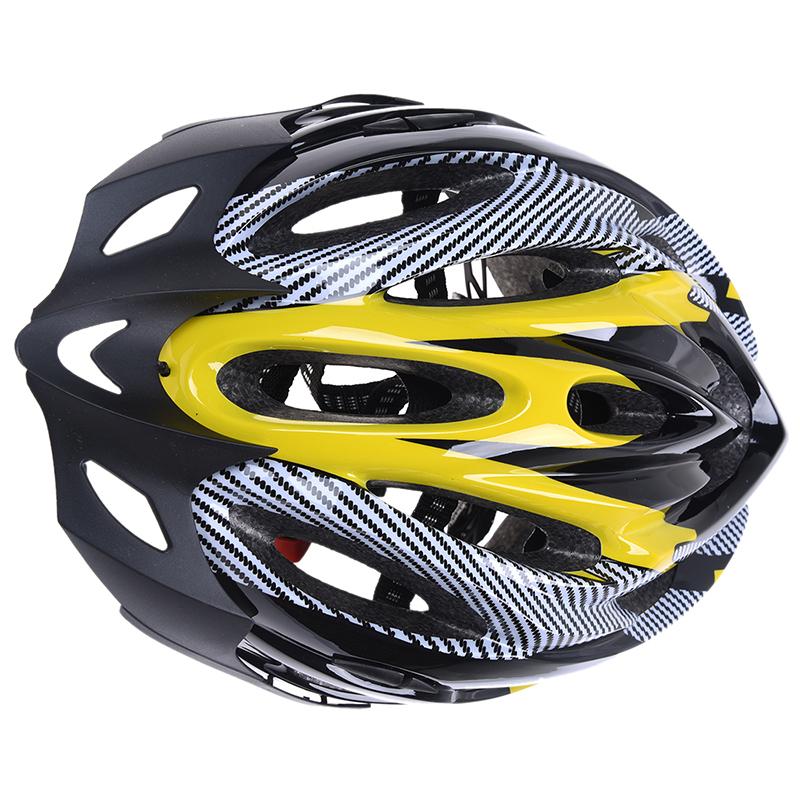 Helme Radfahren Fahrrad Einstellbarer Helm Kopf Schutz - Gelb & Schwarz W7G1 1X