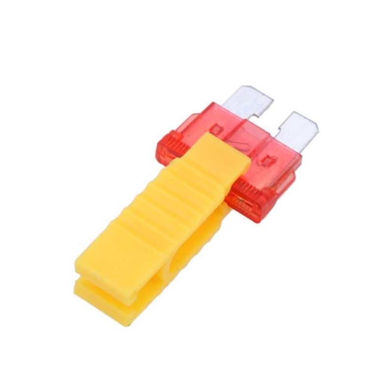 Yellow Car Automobile Fuse Puller Extraction Tools for Car Fuse U1W5