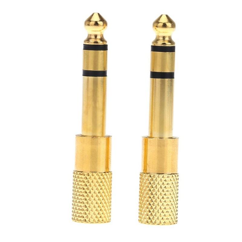 1-Paire-de-Jack-Audio-Convertisseur-Adaptateur-Plug-stereo-douille-pour-gu-P7S0