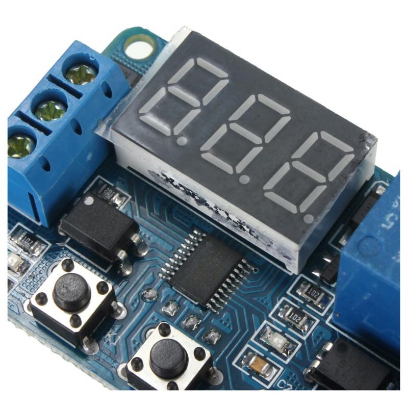 LED Automation DC 12V Anzeige Digitaler Verzoegerungstimer Steuerungsmodul D8W0