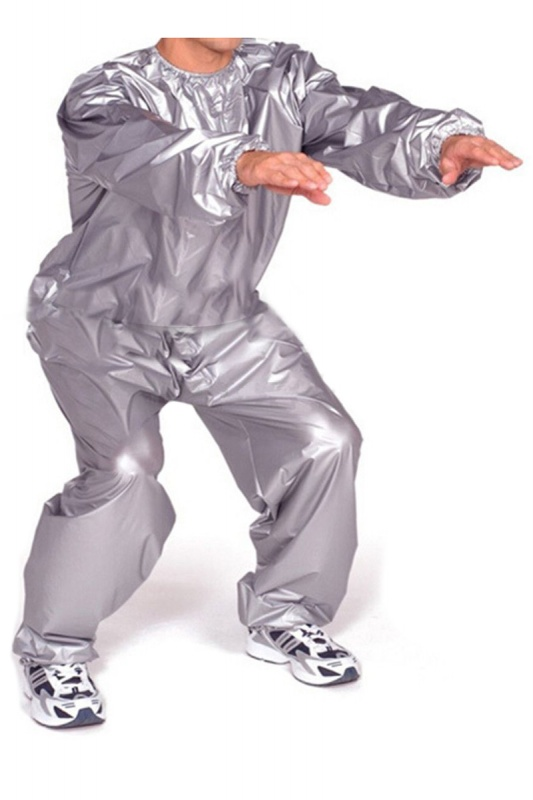Heavy Duty Fitness Weight Loss Sweat Sauna Suit Exercise Gym Anti-Rip X5S5