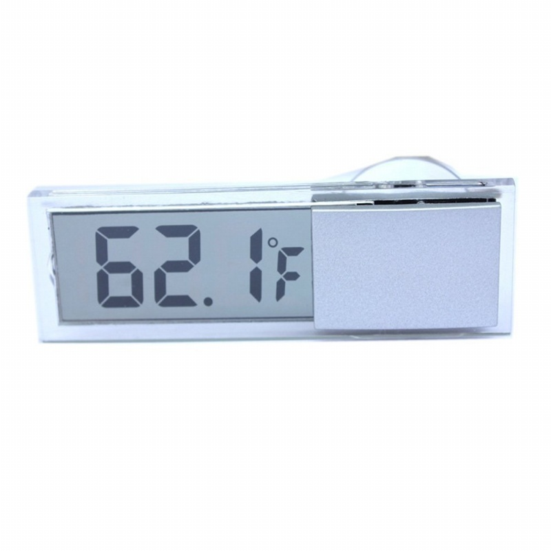 Osculum Type LCD Vehicle-mounted Digital Thermometer Celsius Fahrenheit M2H9