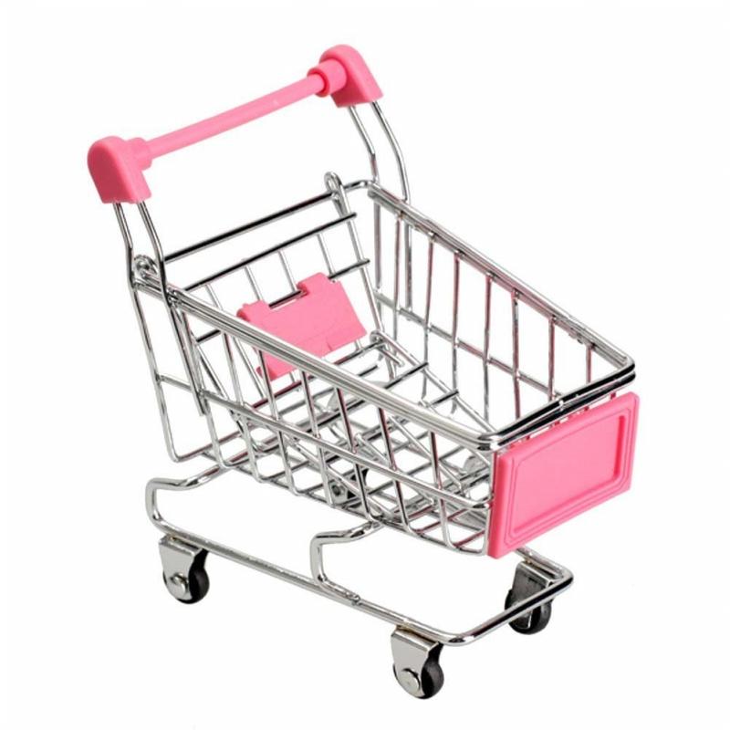 Kleinkindspielzeug Kaufläden & Zubehör Mini Einkaufswagen Supermarkt Handwagen Einkaufszweckwagen Modus Lagerun F8G0 1X
