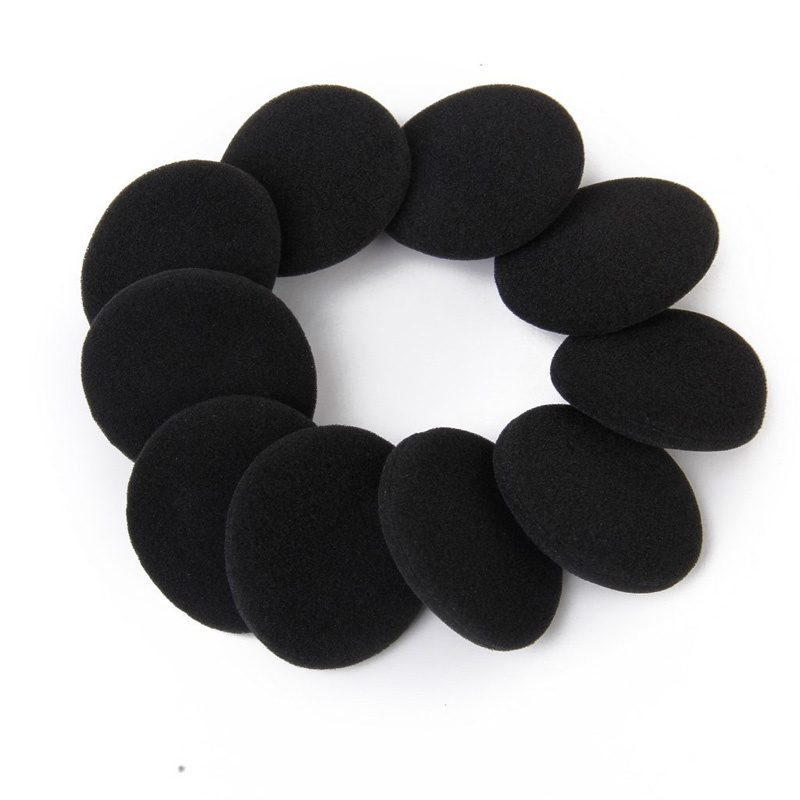 5 pairs of Black Replacement Ear Pads for PX100 Koss Porta Pro Headphones C4L6