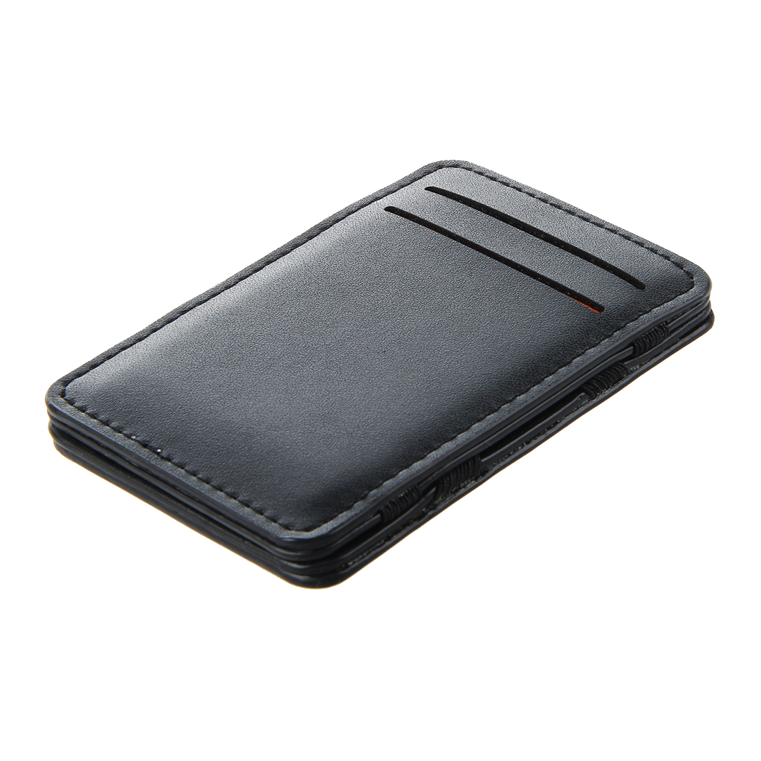 Mens-Magic-Flip-Wallet-Money-Clip-Bifold-Slim-Credit-Card-Holder-Purse-A7M7 thumbnail 3