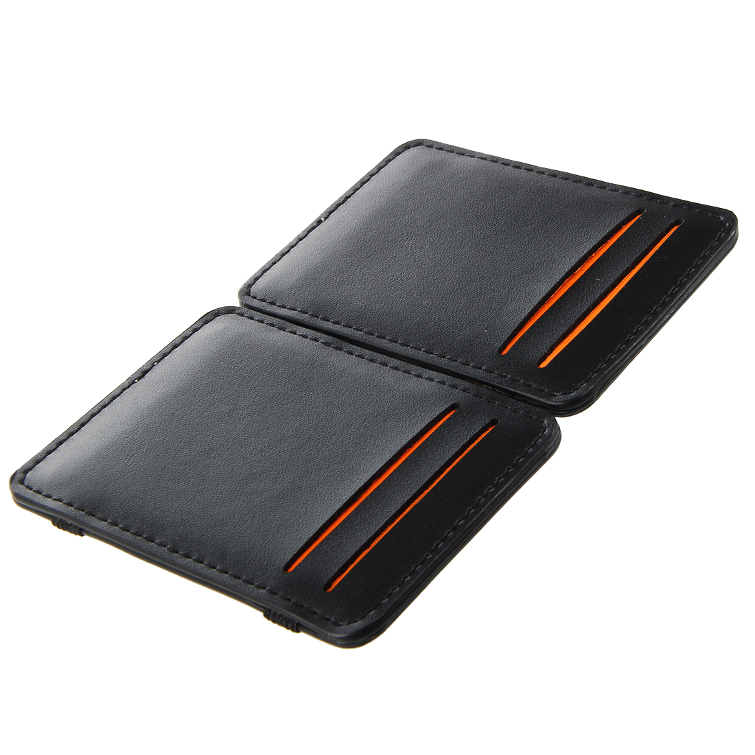 Mens-Magic-Flip-Wallet-Money-Clip-Bifold-Slim-Credit-Card-Holder-Purse-A7M7 thumbnail 6
