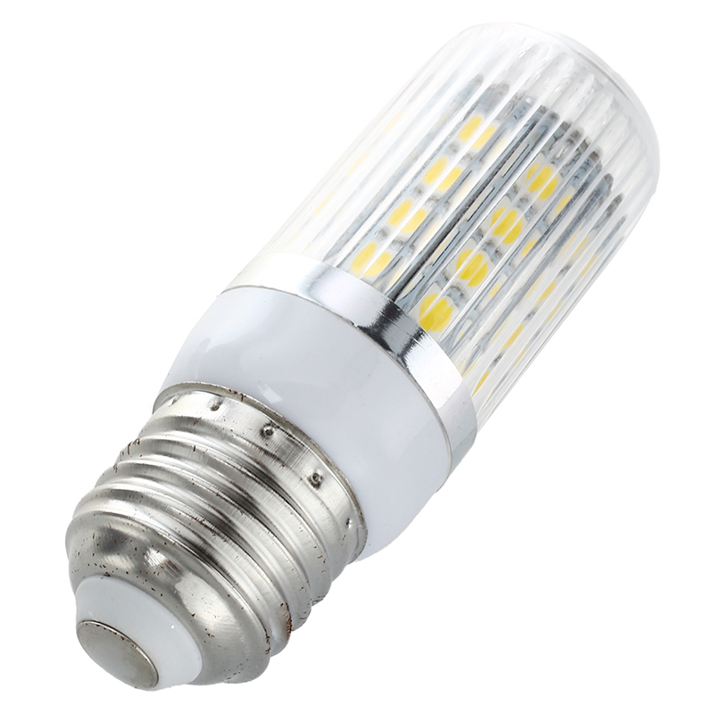 10 x E27 36 5050 SMD Bombilla LED de lampara alta potencia 6W Blanco calido 32L6
