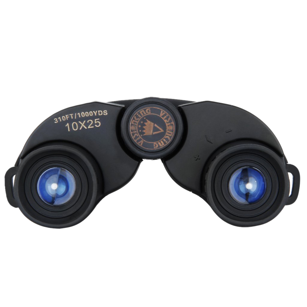 VISIONKING 10X25 Binoculars for Bird watching, Travel, Hiking, Camping and C2F5