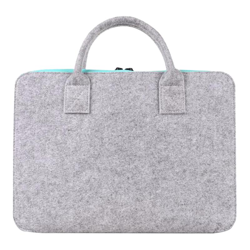 Neue Filz Universal Laptop Tasche Notebook Tasche Aktentasche Handlebag Pou U3P2