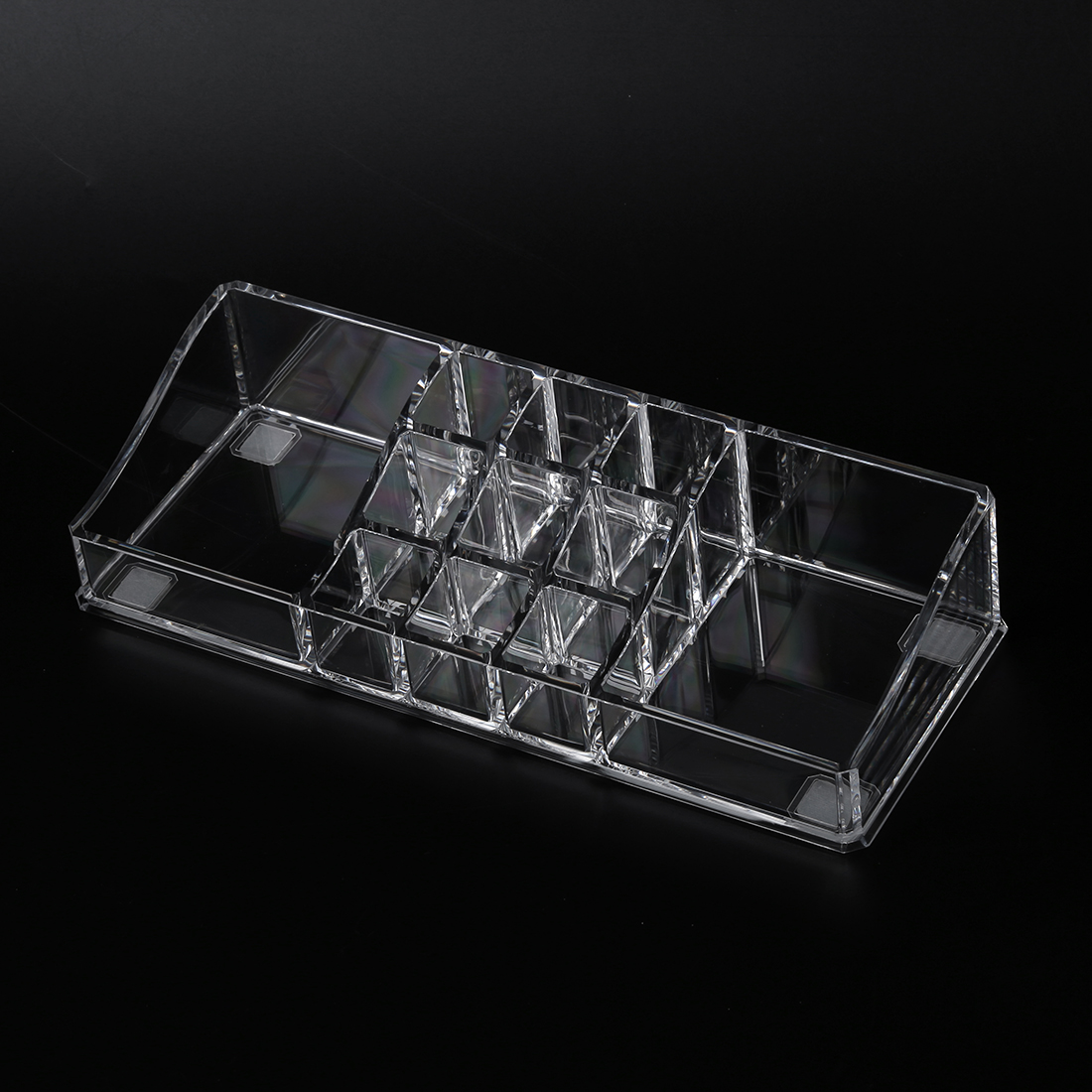 acrylic cosmetic organiser lipstick brush holder makeup storage case dt ebay. Black Bedroom Furniture Sets. Home Design Ideas
