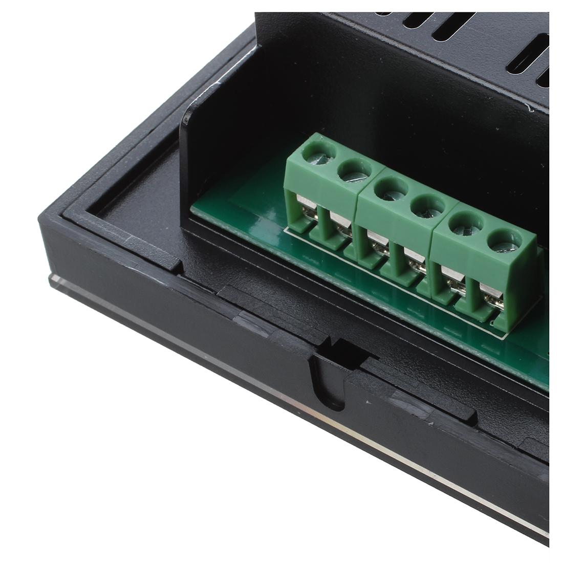 rgb led light strip touch panel dimmer controller 12 24v 12a 3 channels o5j i9q3 ebay. Black Bedroom Furniture Sets. Home Design Ideas