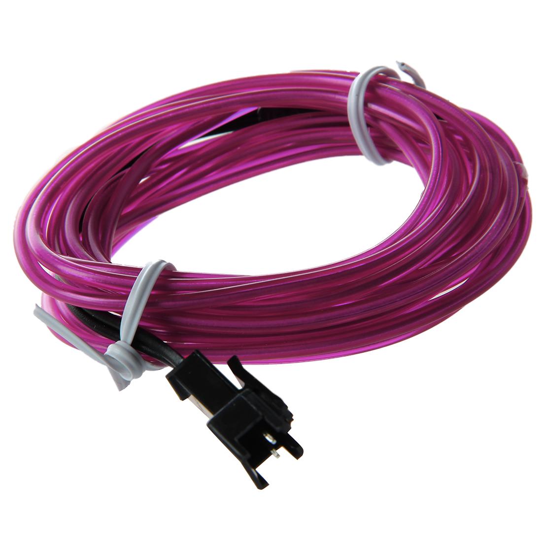 led flexible el wire neon glow tube lamp light dc 12v inverter for car n3l3 ebay. Black Bedroom Furniture Sets. Home Design Ideas