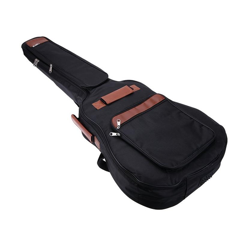 """41/"""" Gitarre Rucksack Schultergurte Tasche 8 mm Baumwolle gepolsterte Tasche Etui"""
