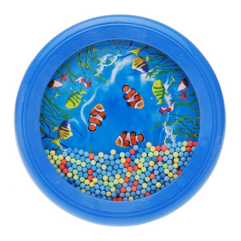 Ozean Wellen Bead Trommel Musikalisches Paedagogisches Spielzeug Werkzeug fuQ3F2 Musikinstrumente