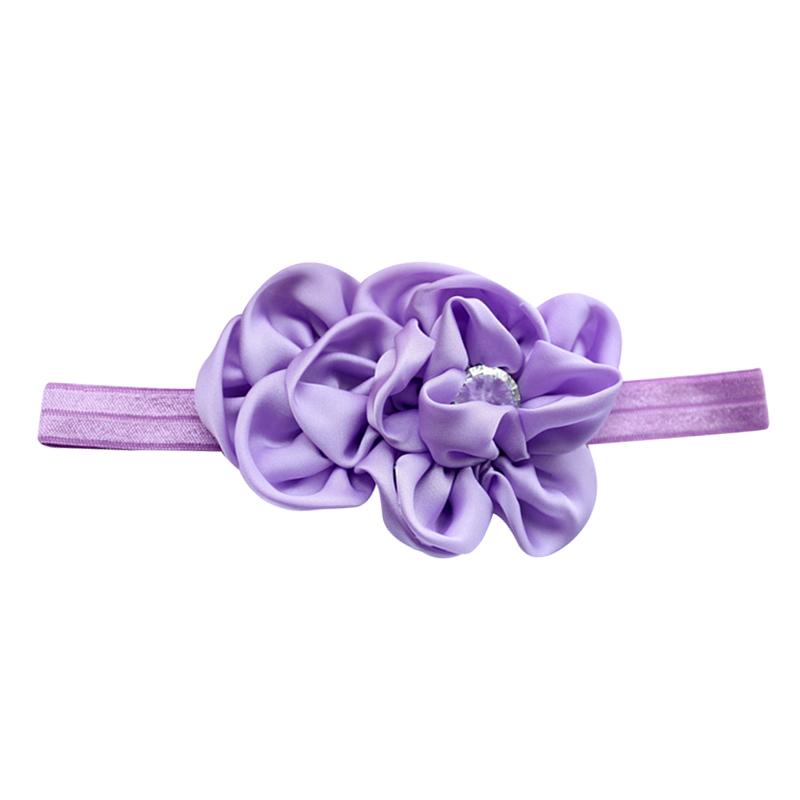Kopfband Chiffon Haarband Baby Maedchen Blumen Headband Beige U6N8 1X
