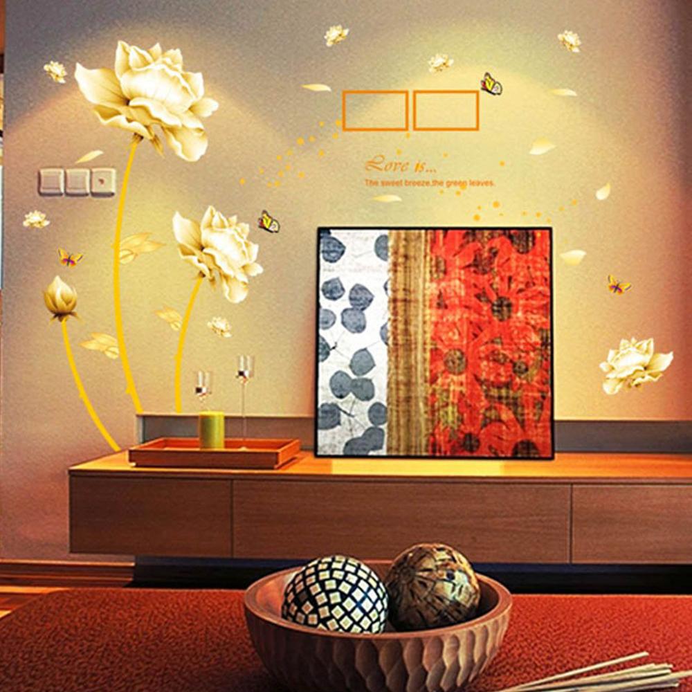Autocollants Muraux Amovibles De Peinture Artisque Fonds D