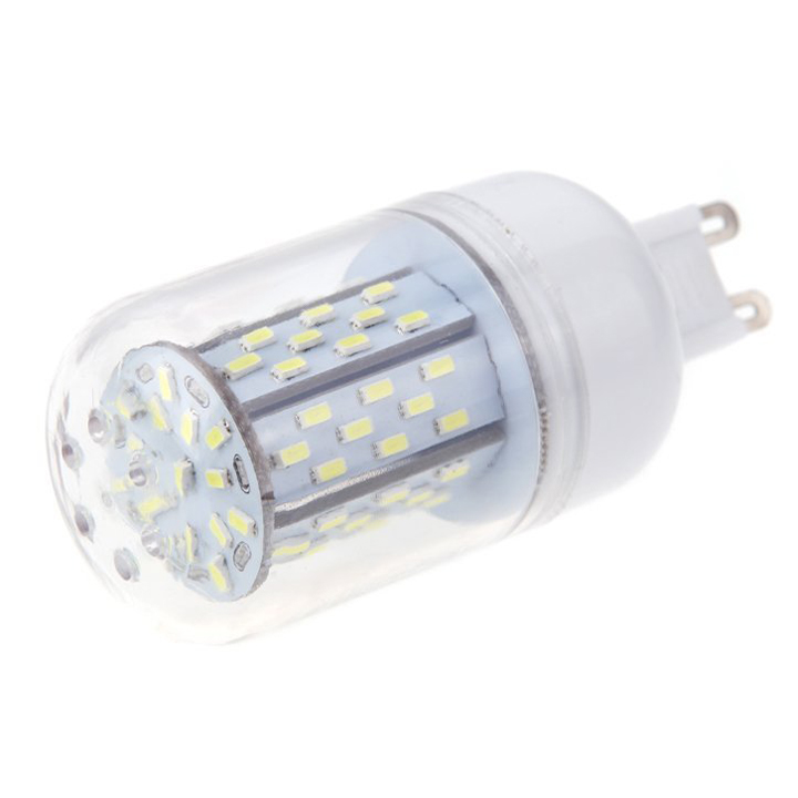 G9 5W 3014 SMD 78 LED Corn Light Bulb Lamp Energy Saving 360 Degree White#V8F7