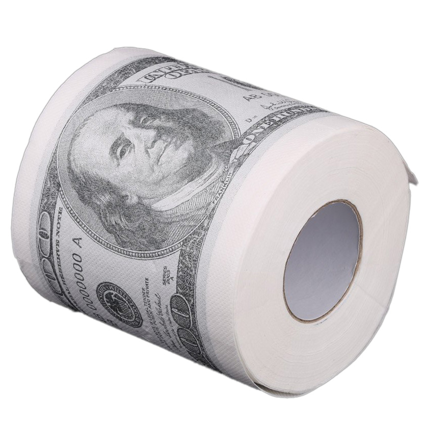 Toilet paper rolls paper in pattern for $ 100 White PK | eBay