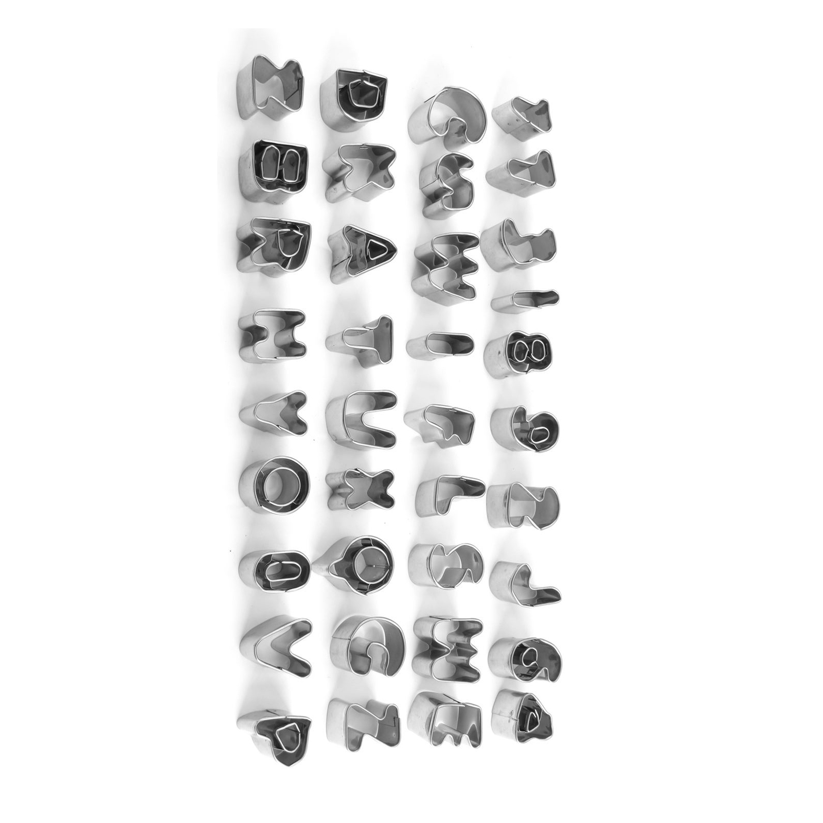Cake Decorating Letter Cubes : Alphabet Number Letter Cake Decorating Set Fondant Icing ...