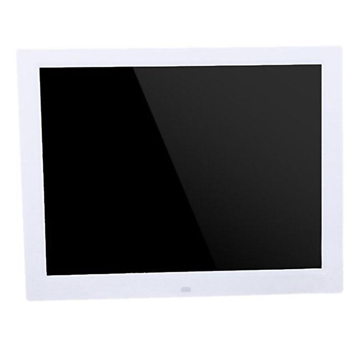 15 pulgadas TFT-LCD 1024x768 HD Marco foto digital reloj Reproductor ...