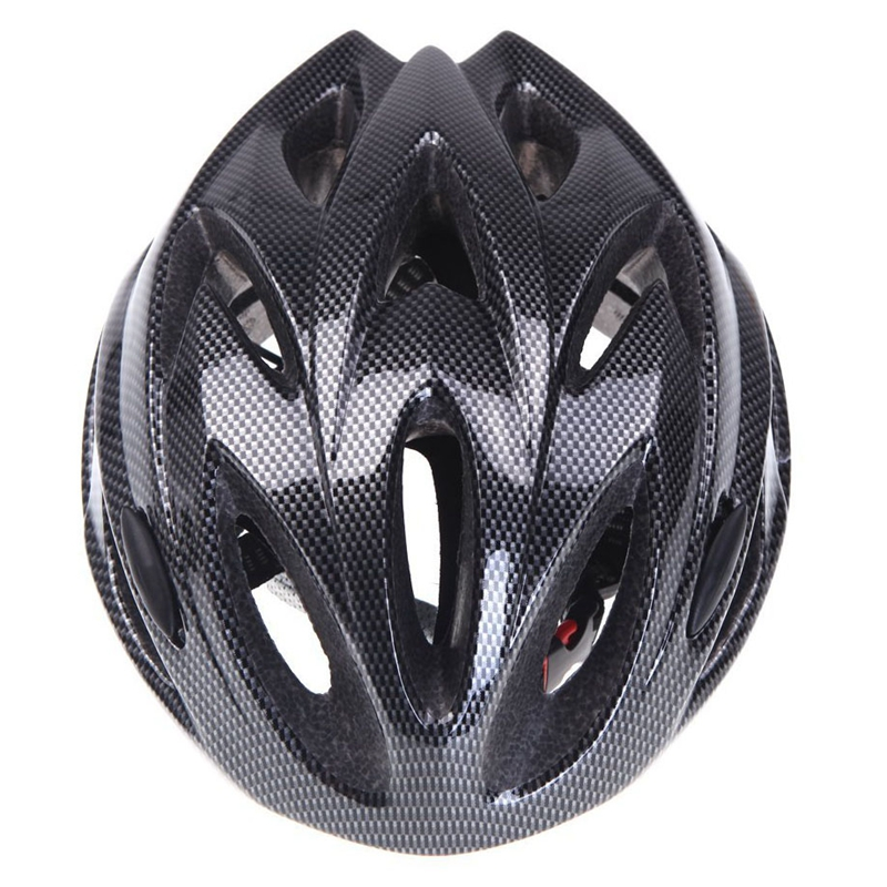 18 Vents Ultralight Integrally-molded Sports Cycling Helmet w// Visor PK D1S T3I8
