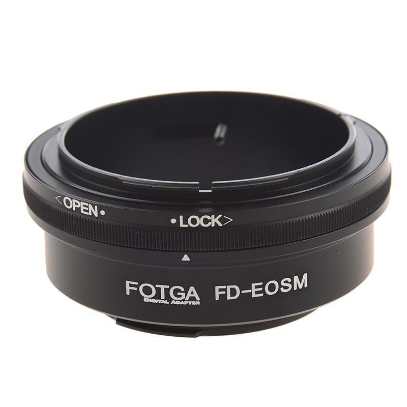 Fotga FD-EOS M Adaptador Digital Anillo para  FD Montaje Lentes para Camara X4Z1