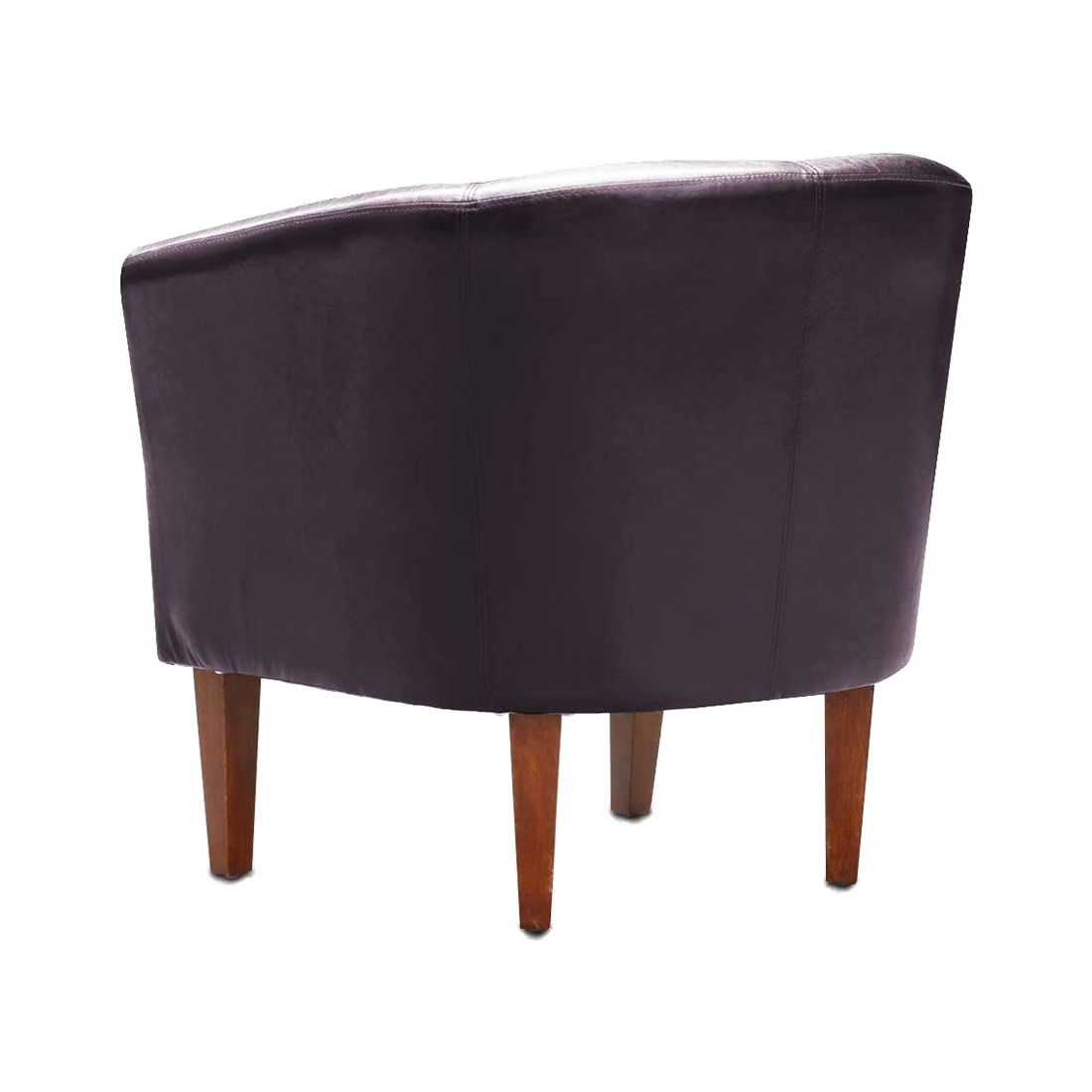 Leather Tub Chair Armchair For Dining Living Room Office Reception Z9K5 EBay