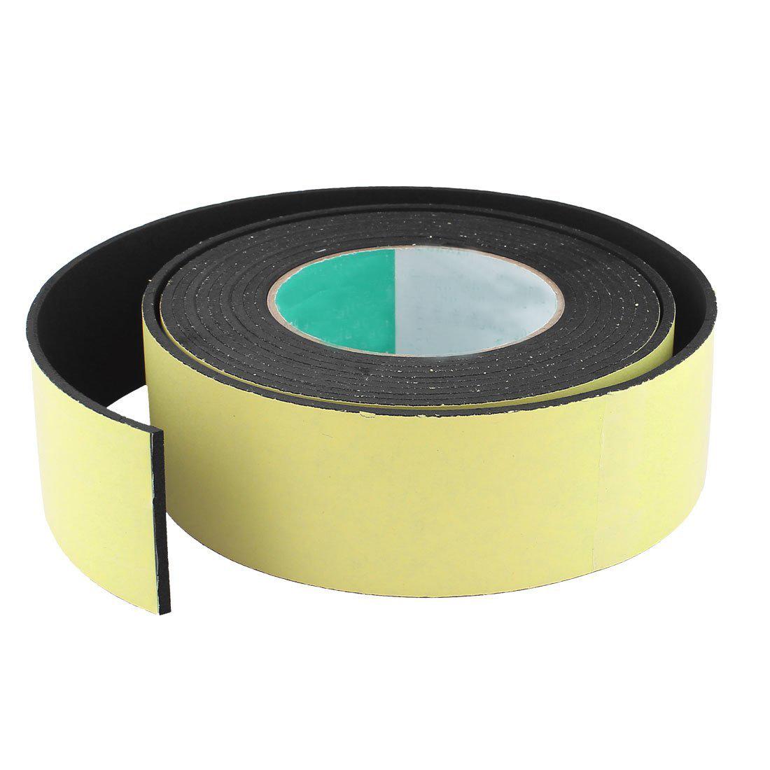 4m 50mm x 3mm einseitig selbstklebend schaum dichtband fuer tuer fenster m6d9 ebay. Black Bedroom Furniture Sets. Home Design Ideas