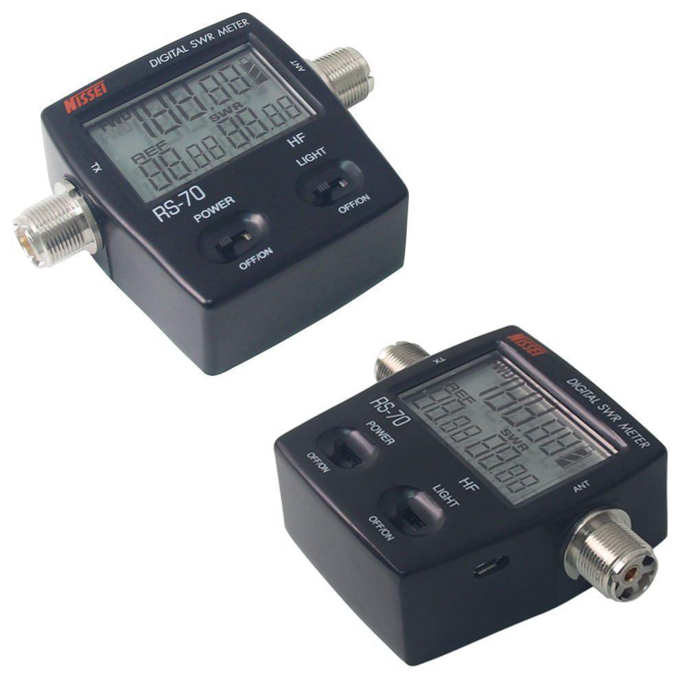 Swr Power Meter : Nissel rs digital swr power meter mhz hf w