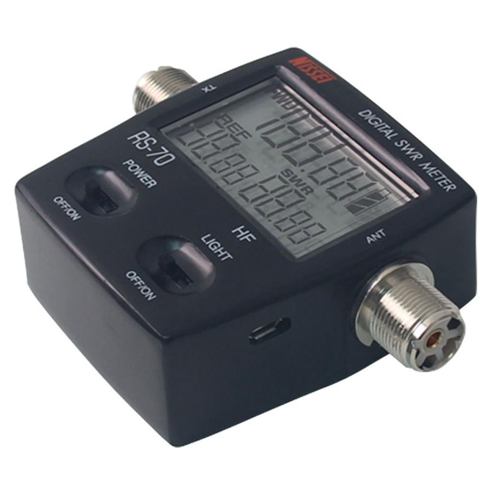 Digital Power Meter : Nissel rs digital swr power meter mhz hf w