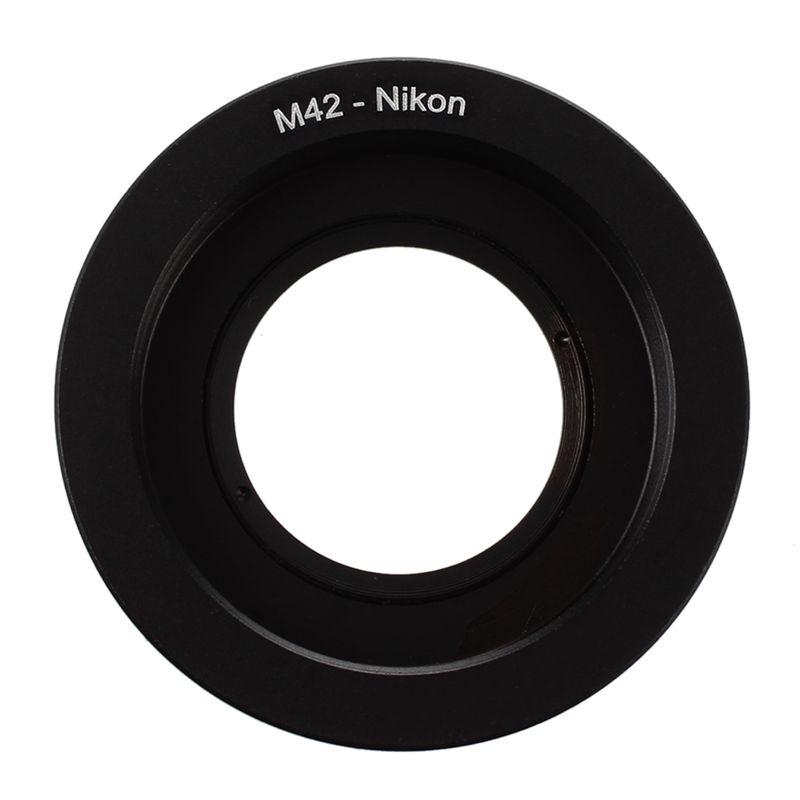 M42 Lente de tornillo a Nikon AI Anillo adaptador camara montaje F con vidriL2S5