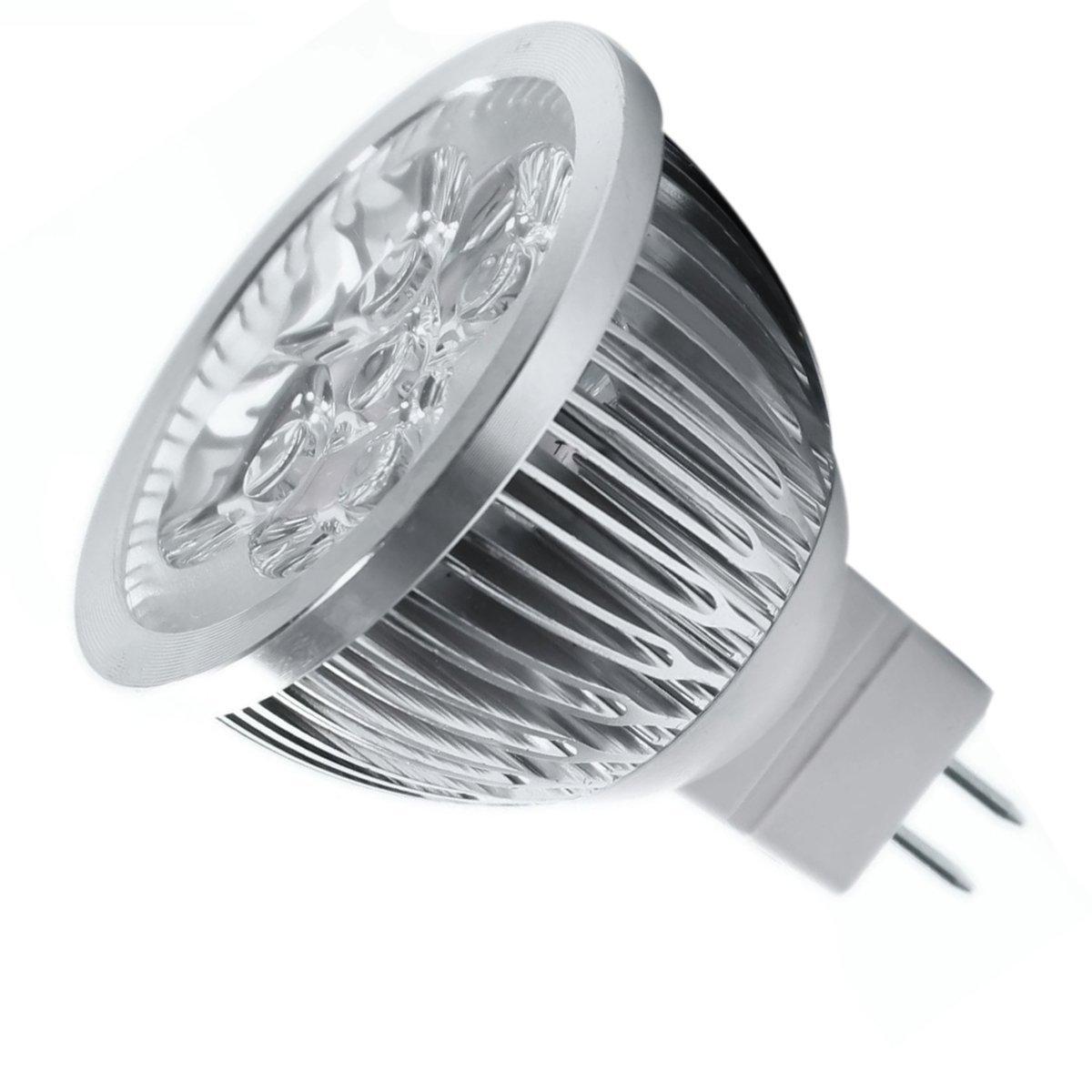 8 * 4W Dimmable MR16 LED Bulb - 3200K Warm White LED Spotlight - 50Watt Equ A6K4