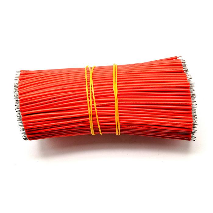 50-pcs-x-Cable-de-puente-de-PVC-10cm-Alambre-de-PVC-de-estanado-Rojo-Cable-C3D6