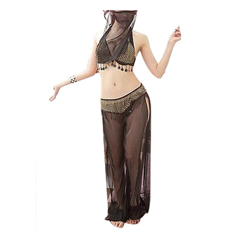 Ropa-de-danza-de-mujer-Trajes-de-danza-del-vientre-con-velo-J7Y3