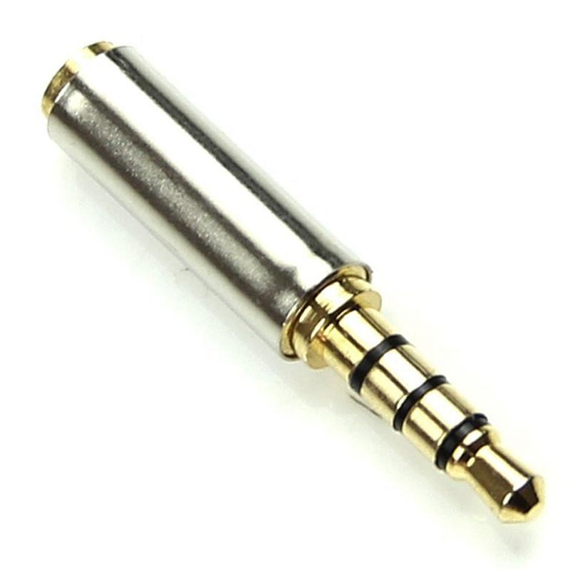 Dorado-3-5mm-macho-a-2-5-mm-hembra-clavija-Conversor-Adaptador-de-jack-de-auricu