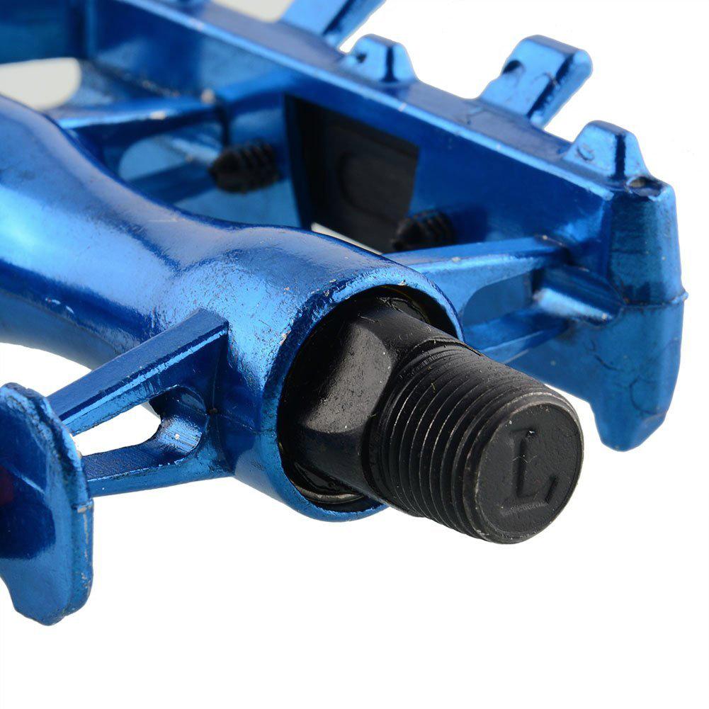 1-Pair-MTB-Aluminium-Alloy-Mountain-Bike-9-16-034-Pedals-Flat-black-11-6-x-10-B2U3