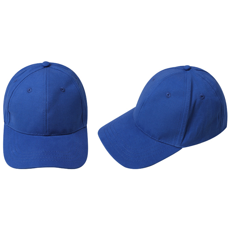 plain baseball cap girls boys junior hat summer royal blue navy womens caps