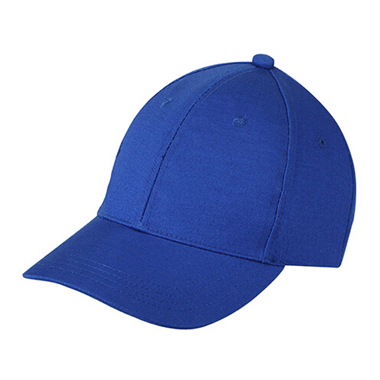 Plain Baseball Cap Girls Boys Junior Childrens Hat Summer-Royal Blue ... d08859b4979