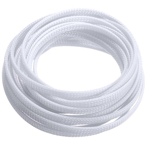 5m fabric hose braided hose cable protection cable conduit 4mm white ts ebay