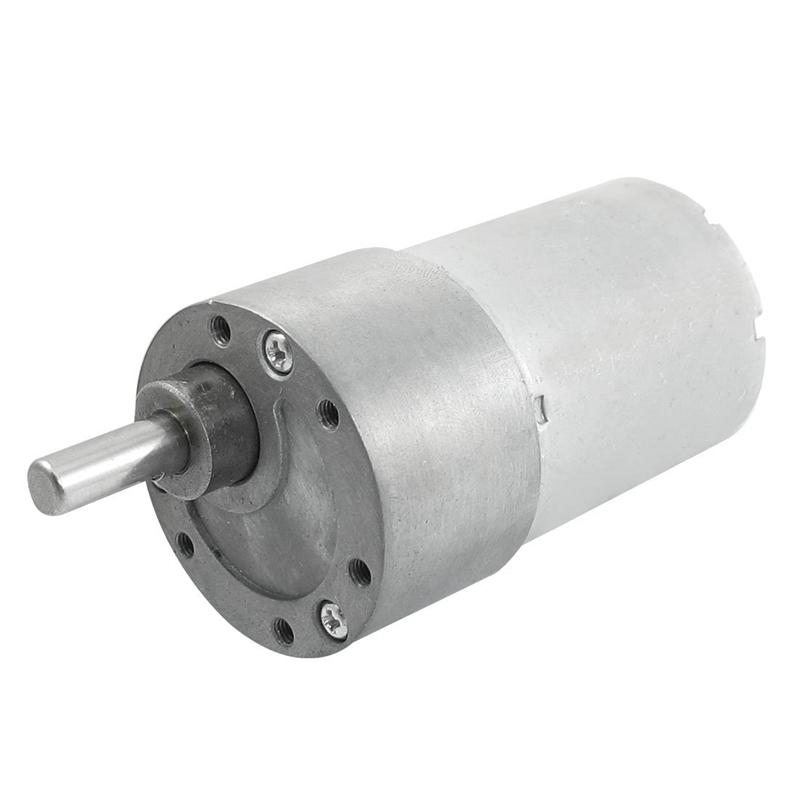 300-RPM-DC-12V-2-4W-Caja-de-cambios-de-Torque-Motor-de-Reductor-de-velocidad-ele