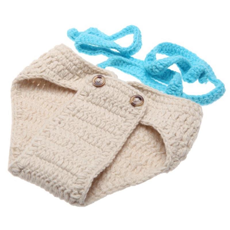 Gorra de bebe con lazo Traje de sombrerero de ganchillo de costura ...