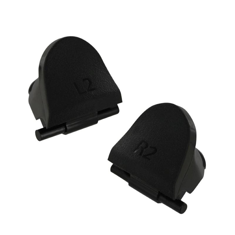 1 Juego de Reemplazo L2 R2 Botones de disparo + 4 resortes para PlayStation 4 NU