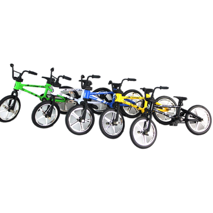 2x finger fahrrad mini spielzeug multi color kind geschenk. Black Bedroom Furniture Sets. Home Design Ideas