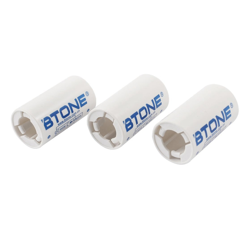 BTONE-3-piezas-Soporte-caja-plastico-adaptador-convertidor-para-bateria-tamaK4R2