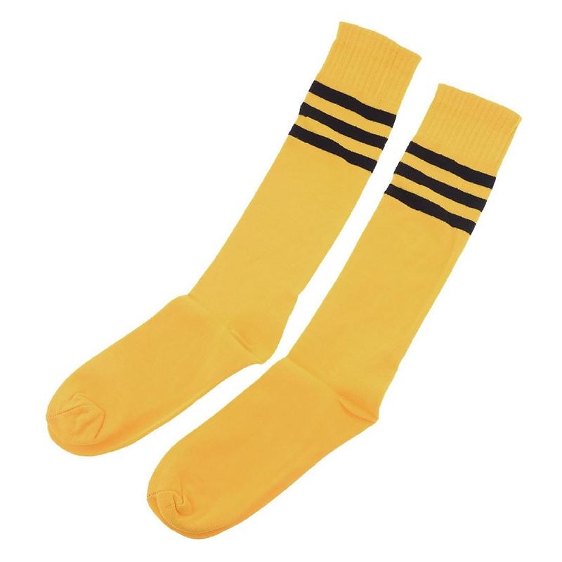 Un-Par-De-Calcetines-Elasticos-De-Futbol-De-Rodilla-Alta-Para-Hombres-Calcetines