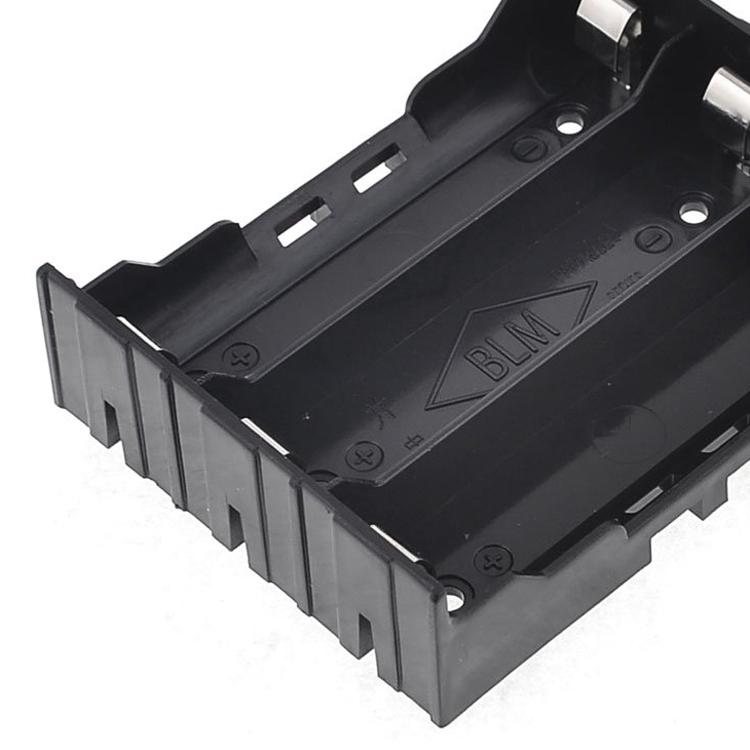DIY Batteriehalter mit 6 Pins fuer 3x 18650 wiederaufladbare Li-Ionen-Akkus L3N6