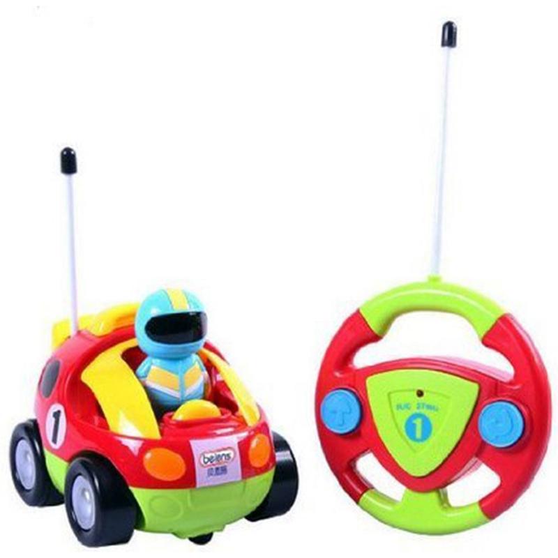 Elektrisches Spielzeug Beiens Karikatur R / C Rennauto Radio Kontrollspielzeug fuer KleinkinderC9X2 2X